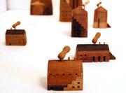 DMにも使われた花塚光弘さんの小さい木の家
